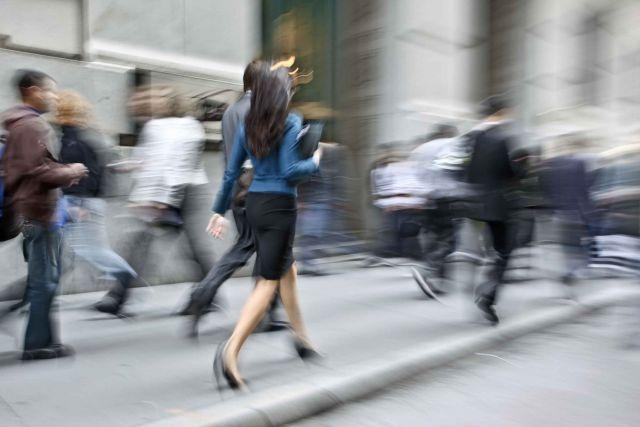 ¿Qué tan rápido caminan en tu país?