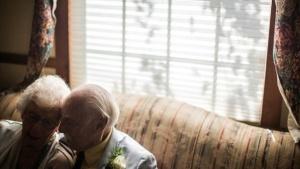 El amor les llegó a los 90 años