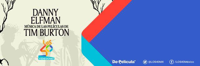 Te invitamos a conocer al músico de las películas de Tim Burton en #Los40VideoChat