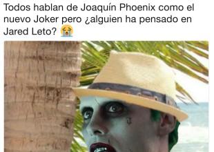 En memes, lo que opinan las redes sobre el nuevo Joker