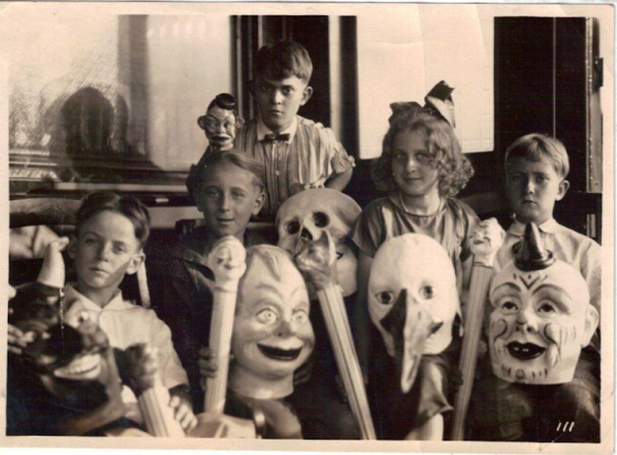 Resultado de imagen para halloween antiguo