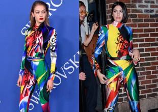 Estas celebridades usaron el mismo outfit ¿A quién le va mejor?
