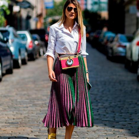 Outfits encantadores para las amantes de las faldas
