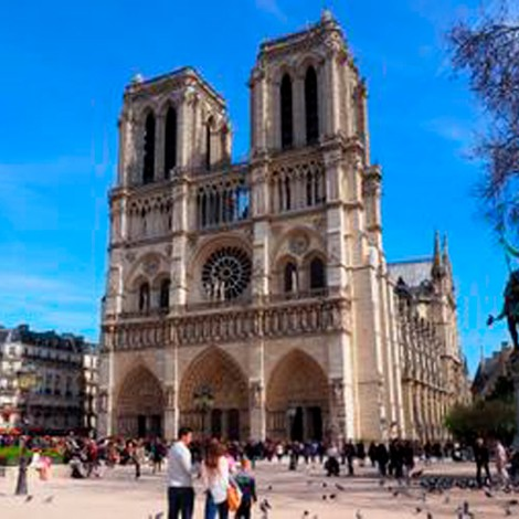 Después de la tragedia usuarios en redes recuerdan su visita a Notre Dame