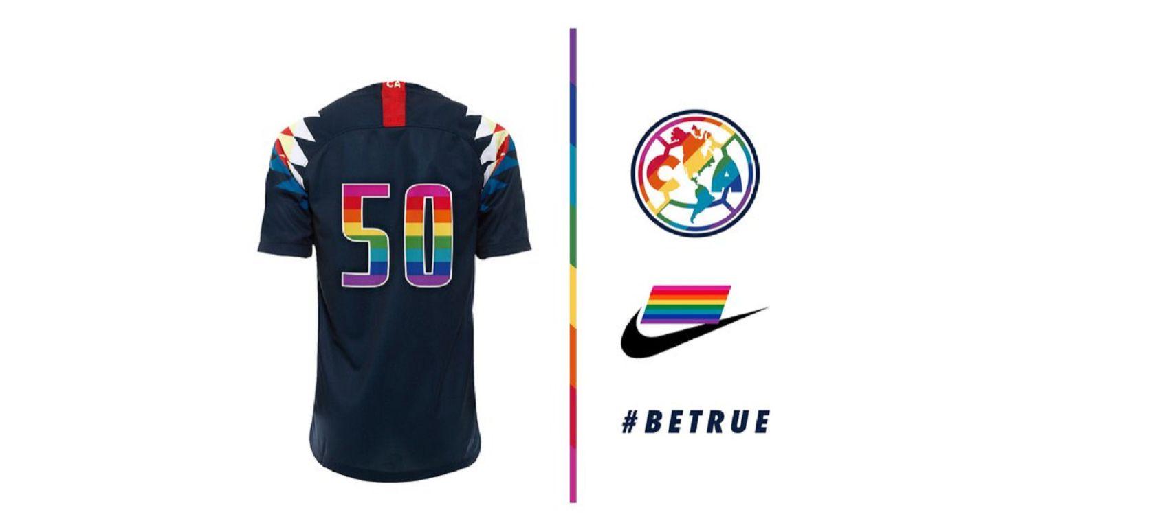 super popular bed3a 02190 América luce nuevo uniforme en apoyo a la comunidad LGBTI+ ...