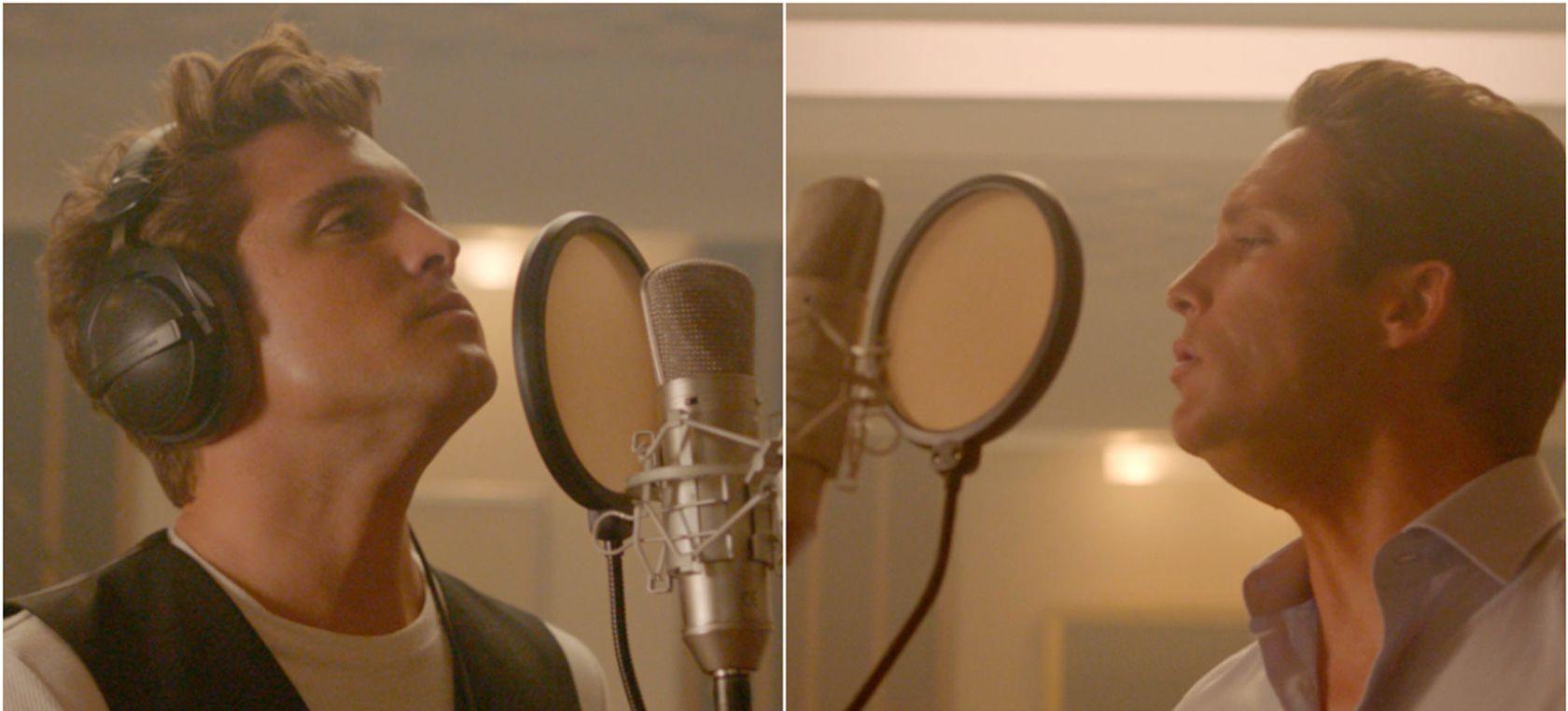 La nueva apariencia de Diego Boneta como Luis Miguel | Actualidad | LOS40 México